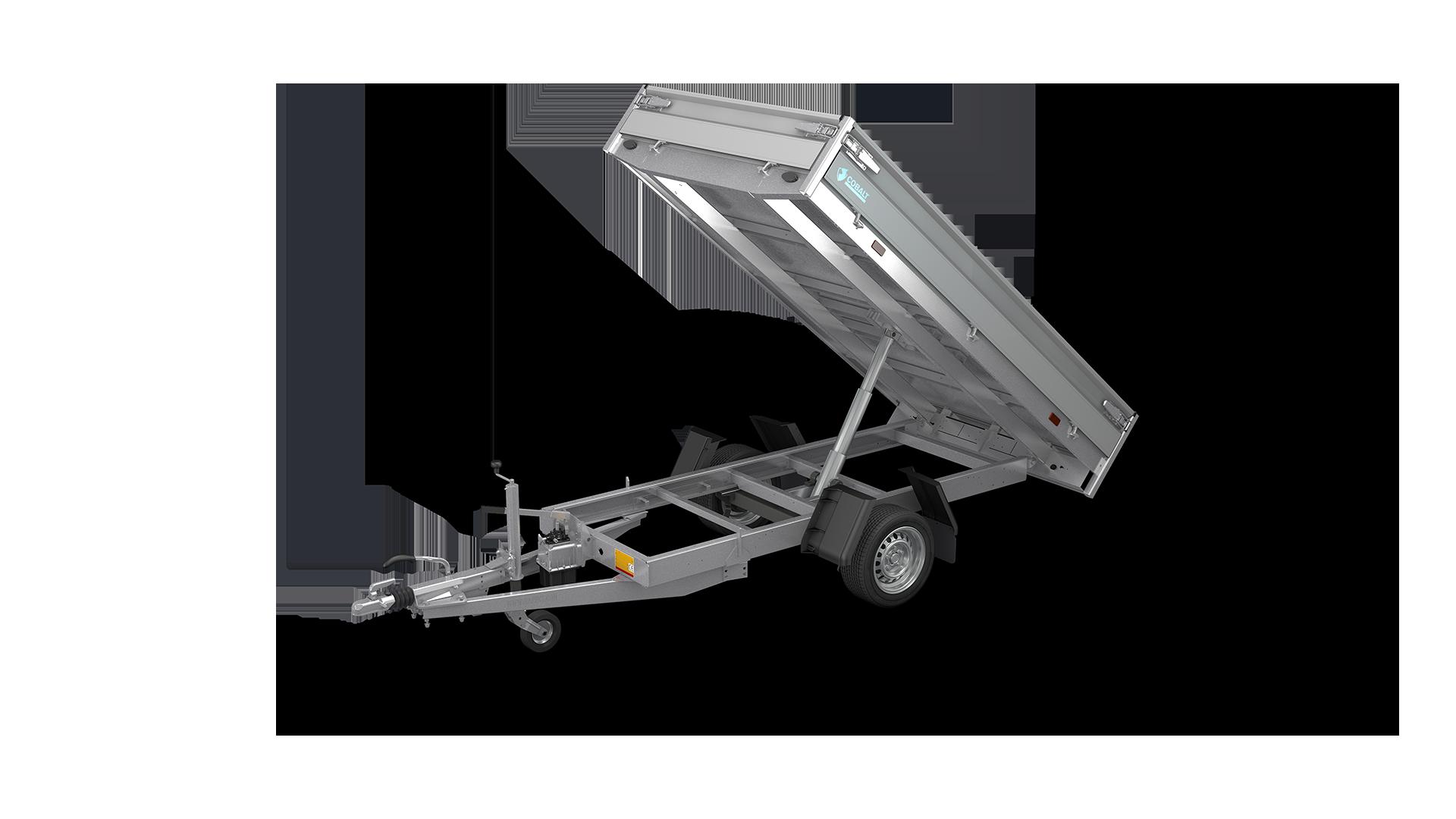 HAPERT aanhangwagen COBALT HB-1 achterwaarts kantelende kipper